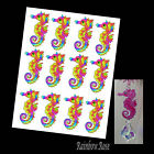 Transparency #70 SEAHORSE 70mm RAINBOW YELLOW UN-CUT 2 4 8 suncatcher CRAFT film
