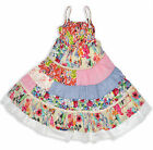 Girls Summer Dress Floral Patchwork Party Kids Dresses New Age 3 - 10 Years