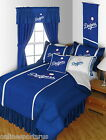 Los Angeles Dodgers Comforter Bedskirt Sham Pillowcase Twin to King Size