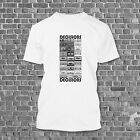 MENS EIGHTIES CASSETTE TAPES DECK DECISIONS OLD SCHOOL VINTAGE T-SHIRT TEE NEW