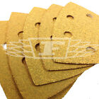 5 PACK DELTA DETAIL SANDER SHEETS YELLOW ALUMINIUM OXIDE ASSORTED SANDING 741377