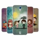 HEAD CASE CUTE EMO LOVE SILICONE GEL CASE FOR HTC DESIRE 620