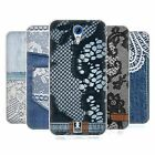 HEAD CASE JEANS AND LACES SILICONE GEL CASE FOR HTC DESIRE 620