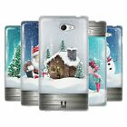 HEAD CASE CHRISTMAS IN JARS SILICONE GEL CASE FOR SONY XPERIA M2