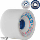 "ROAD RIDER ""Comp Thane"" Skateboard Longboard Wheels 72mm 78a Blue White Downhill"
