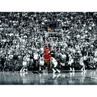 "MICHAEL JORDAN POSTER ""LAST SHOT"" NBA CHICAGO BULLS ""ALSO AVAILABLE FRAMED"""