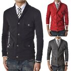 Men's Stylish Slim Fit V-neck Cardigan Pullover Jumper Sweater Jackets Coat Top