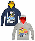 Boys Despicable Me Minions Hoodie Kids Hooded Minion Top New Age 3 4 6 8 Years