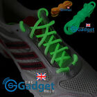 Glow in the Dark Luminous Shoelaces UK - Round Pastel Pink Blue Green White Lace