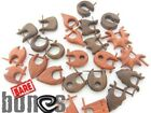 Organic Body Jewelry Bare Bones Mix of 14G Wood Earrings 10 PAIRS MIXED LOT
