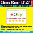 Colour Feedback / Packing Labels / Stickers Thanks For Buying - Free Postage