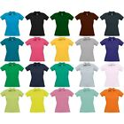 Ladies Women B&C Safran 100% Cotton T Shirt with Collar