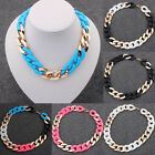 2015 New Jewelry Crystal Chunky Statement Chain Pendant Necklace Choker Gift 10R