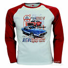 Ford Mustang Shelby Vintage Auto Maniche Lunghe Licenza T-Shirt 0191