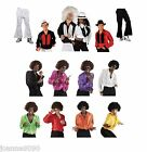MENS DISCO FEVER 70S FANCY DRESS COSTUME FLARES FLARED TROUSERS AND RUFFLE SHIRT