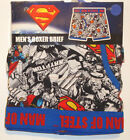 Superman Boxer Brief Underwear Size LARGE One Packaged Cotton NEW super man NWT