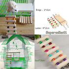 WoodenToys Rat Hamster Parrot Hanging Ladder Bridge Shelf Cage  Free Collocation