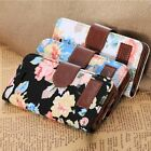 Magnetic Wallet Floral Jacquard Leather Cover Case For Apple iPhone 5C Trendy