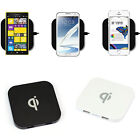 2015 Qi Wireless Charger for Galaxy S5 S4 Note 3 USB-Port high quality trendy