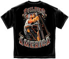 American Steel Workers Building  America T shirt Print Both Sides