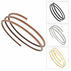 USA Made Bracelet Bangle Metal Upper Arm Cuff Armlet Armband Triple Coil Jewelry
