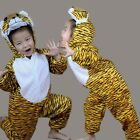 Children Tiger Costume Suit  Kids Animal Cosplay Costume Fancy Dress