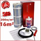Electric Underfloor Undertile Heating Kit 200w 16m2 Thermopads FREE Delivery