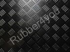 CHECKER-PLATE Studded Garage Shed Workshop Rubber Flooring Matting 1.5m x 3mm