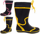 Womens Wellies Ladies Wellington Boots Festival Waterproof Rain Size 3 4 5 6 7 8