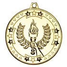 Achievement Victory Sports Medal Stars Achievement Award With Ribbon M73JREW