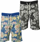 Mens Threadbare Fashion Madina  Jogger 100% Cotton Summer Shorts Hawaiian