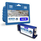 COMPATIBLE PITNEY BOWES BLUE 767-8Bl / 767-8BN FRANKING MACHINE INK CARTRIDGE