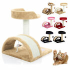 Kitten Cat Tree Scratcher Scratching Post Sisal Climbing Toy Activity Centre Bed