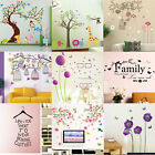 DIY Removable Bird Quote Vinyl Wall Stickers Art Decals Mural Home Room Decors