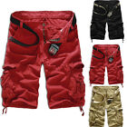 2015Summer New Mens Combat Work Casual Military Army Cargo Pants Trousers Shorts