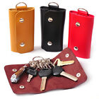 Wisely Best Car Key Chain Faux Leather Holder Cover Case Bag Purse Pouch JRUS