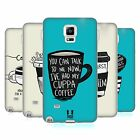 HEAD CASE COFFEE FIX SILICONE GEL CASE FOR SAMSUNG GALAXY NOTE 4