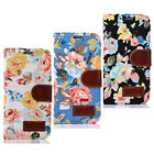 1PC Magnetic Wallet Flip Floral Leather Case For Samsung Galaxy S6 Edge Trendy