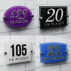 Pure Color Custom Make House Door Number Signs Building Street Name Plaques
