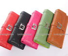 1PC Buckle Decorated Lady Women Quantity Long Wallet Card Holder Coin Bag Purse