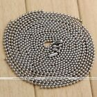 10x Stainless Steel Bead Ball Chain Necklace Solid 2MM MENS WOMENS Matching Link