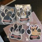 paw print dog breed magnets choice of breeds - free ship new