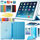 F Apple iPad Air 2 iPad 6 Luxury Genuine BESDATA Leather Smart Case Stand Cover