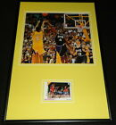 Robert Horry The Shot Signed Framed 12x18 Photo Display Lakers