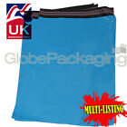 STRONG BABY BLUE MAILING POSTAL PLASTIC POLY BAGS MAILERS *ALL SIZES/QTY'S*