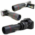 VK 10x 42 1000mm Telescope for Canon EOS Rebel T6i 750D Kiss X8i EF-s 18-55mm