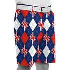 Royal & Awesome  Spectacular Mens Golf Shorts *TREW BRIT*