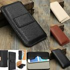 Belt Clip Holster Flip Leather Case Cover For Samsung Galaxy S6/S6 Edge iPhone 6