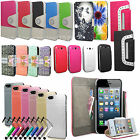 Designer Wallet Leather Flip Case Stand Cover For Samsung Galaxy Phones Models