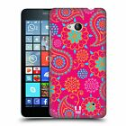 HEAD CASE DESIGNS PSYCHEDELIC PAISLEY HARD BACK CASE FOR MICROSOFT LUMIA 640